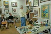 Alan Flattman, pastel workshop, Society of Western Artists